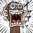 イラッと動く★お猿さん6