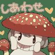 The Mushroom Girls Sticker