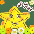 Mayumi moving Stickers