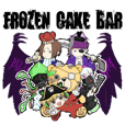 FROZEN CAKE BAR スタンプ