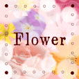It is flower's sticker