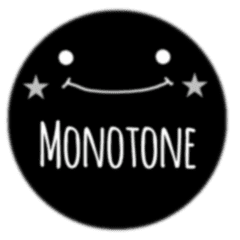 monotone Sticker
