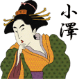 Ukiyoe Sticker 407