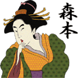 Ukiyoe Sticker 429