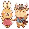 Deer photographer and his wife Bunny