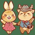 攝影鹿鹿與愛妻兔兔的日常