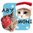 ABBEY & MONICA 's Winter Stickers