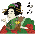Ukiyoe Sticker2 029