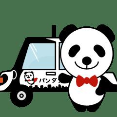 パンダ タクシー