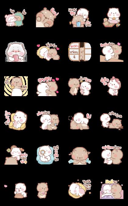 mompig & dadbear Animated 2