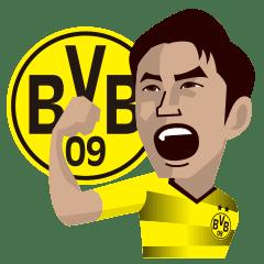 Borussia Dortmund Official Sticker Line Stickers Line Store