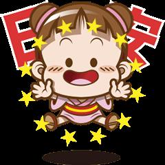 สติ๊กเกอร์ไลน์ Sakura Cocoa - Icebreaker Stickers