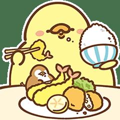 FoodieG Big Stickers: Foodie Office