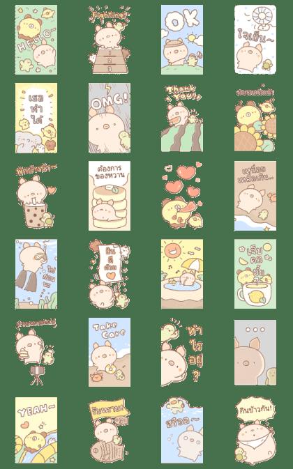 Bread Tree: Big Stickers