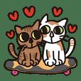 滑板喵喵-喵喵戀愛了 單身也適用