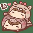 香菇妹&小豬先生