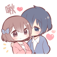 STICKER FOR COUPLES 2(tw)