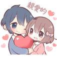 STICKER FOR COUPLES(tw)