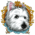 West Highland White Terrier comic life2