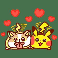 Kanahei × Pokémon Animated Fluff
