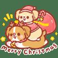 柯基犬卡卡 - 聖誕貼圖