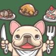 French Bulldog PIGU-Ani Stickers XVIII