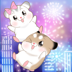 Pudding Hamster 6: Big Stickers 1