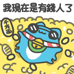 BugCat-Capoo CNY Lucky Stickers