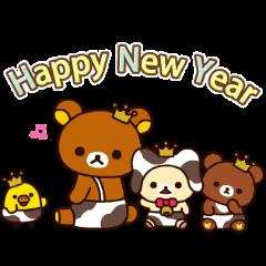 Rilakkuma New Year's Moving Backgrounds