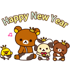 Rilakkuma 新年動態貼圖
