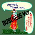 Business with kimono