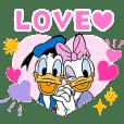 Stiker Pasangan Donald & Daisy