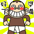 Funny Monkey Costume 2