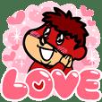 鷹の爪団 バレンタイン&愛を伝えるスタンプ