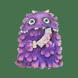 紫色小怪物