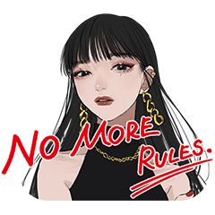 KATE NO MORE RULES.