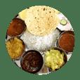 南インドの美味しいスタンプ