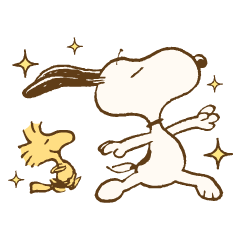 Snoopy&胡士托(復古風)