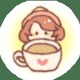 Coffee fairy mocha Sticker