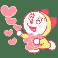 Doraemon Pair Stickers (Dorami)