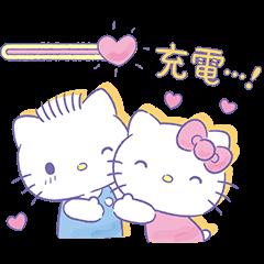 สติ๊กเกอร์ไลน์ Romantic Hello Kitty