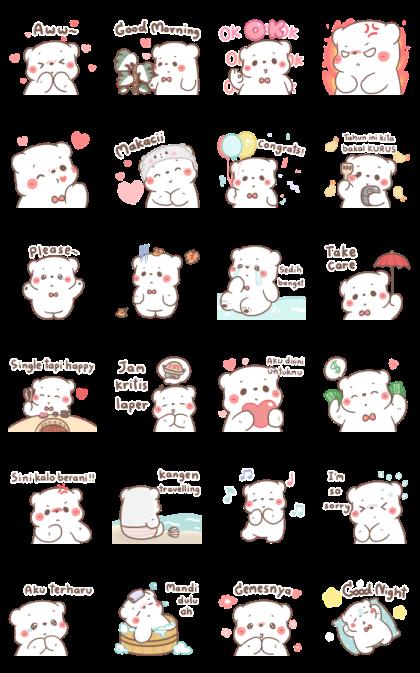 BearPlease: Effect Stickers