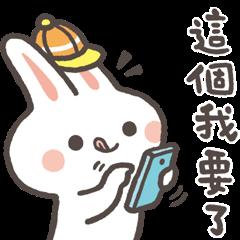 LINE 購物 × 兔子波波☆實用日常篇