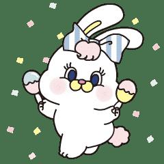 粉紅莉可兔 6 同樂貼圖