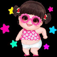 Yuan Yuan Pink Girl