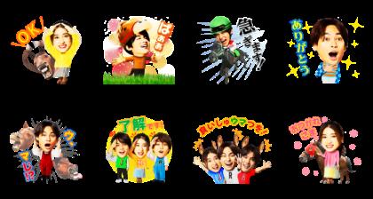HOT HOLIDAYS! Stickers