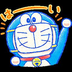 Doraemon All-Purpose Greeting Stickers