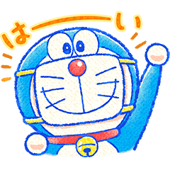 Doraemon All-Purpose Greeting Stickers