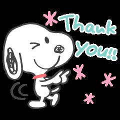 Snoopy 好友貼心話(塗鴉風)