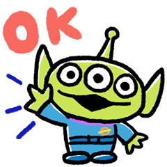 Daily Alien Stickers